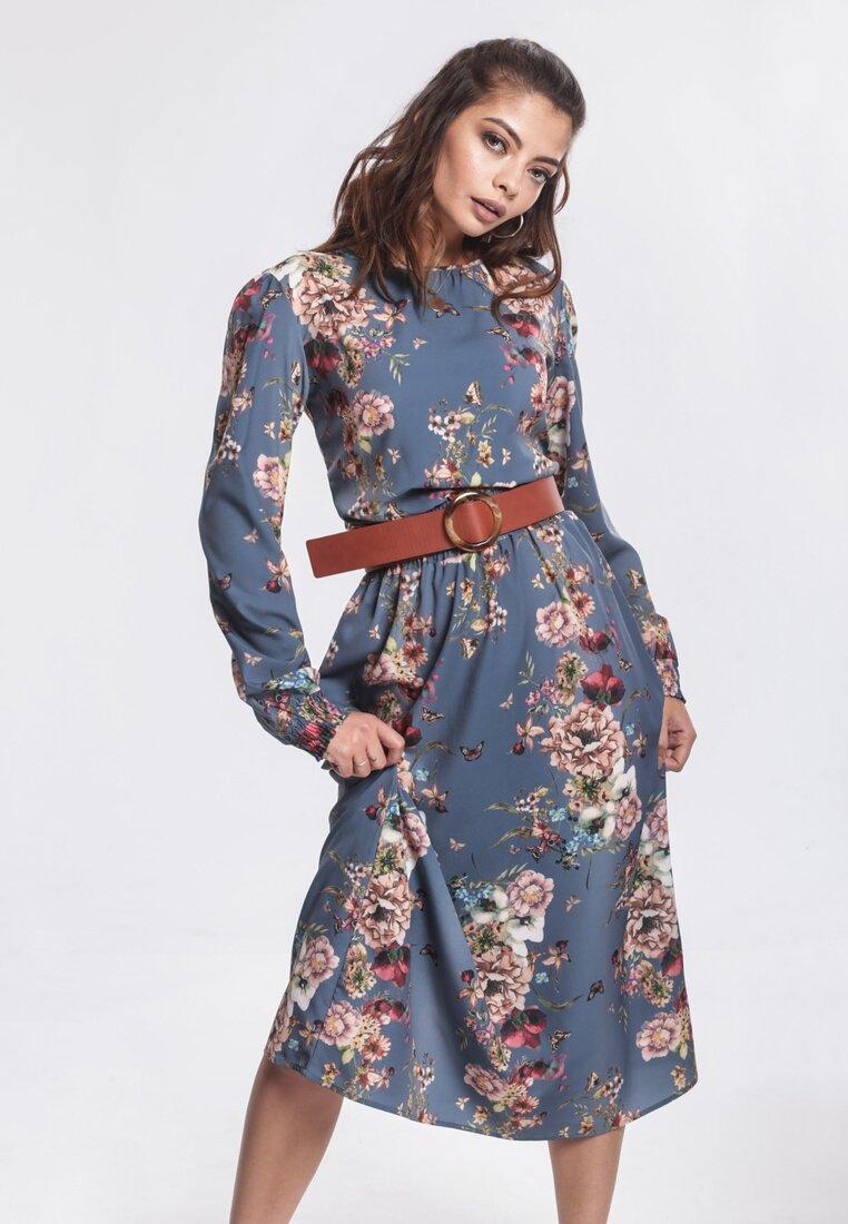 Niebieska Sukienka Intense