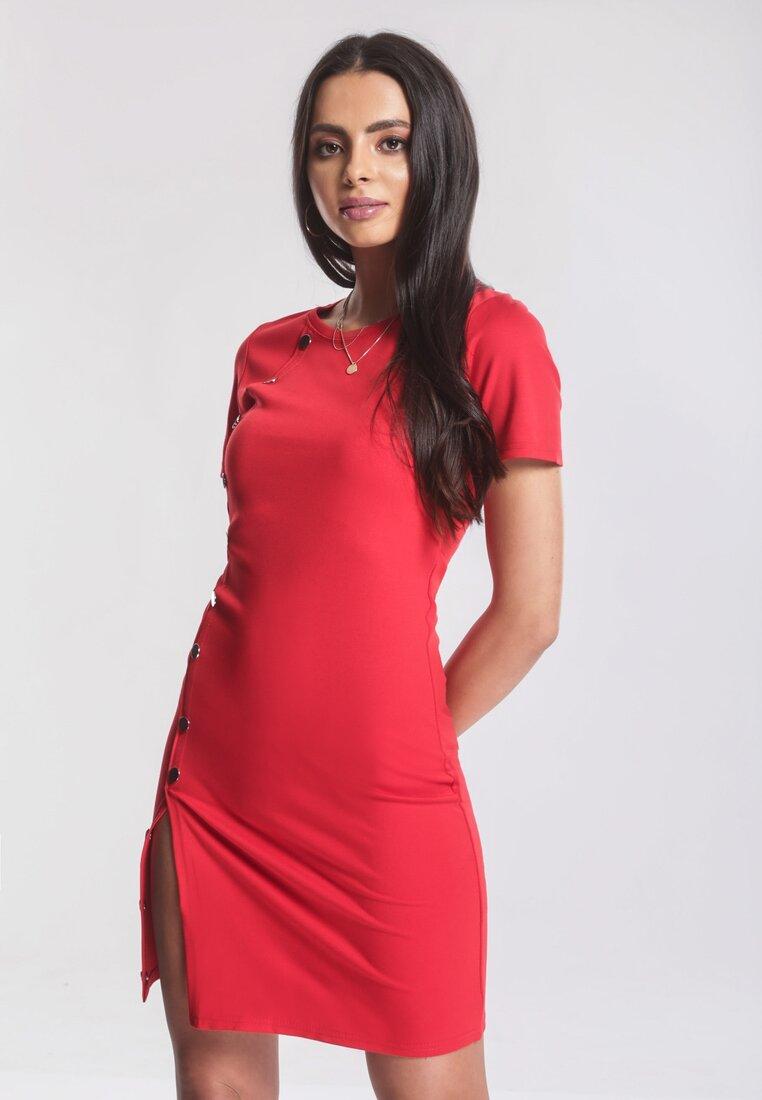 Czerwona Sukienka More Or Less