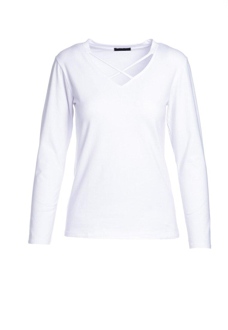 Biała Bluzka Gritty