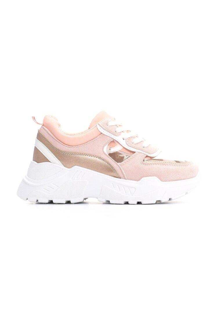 Różowe Sneakersy My Road