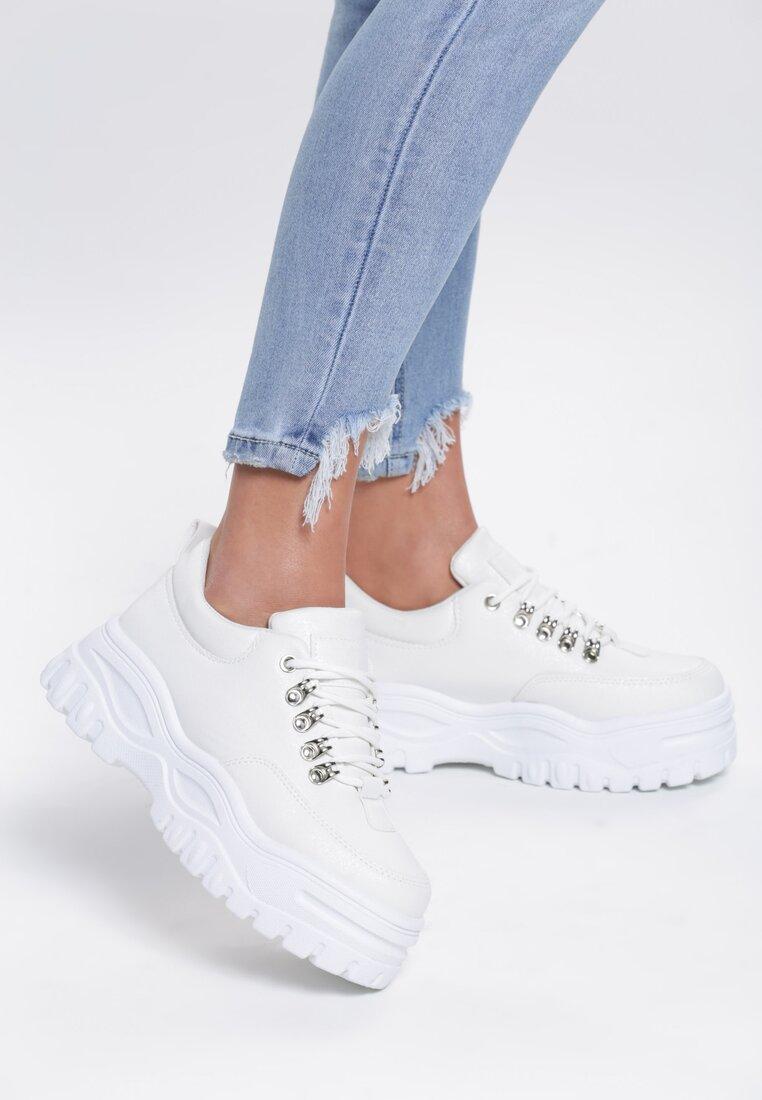 Białe Sneakersy Resume w Www.renee.pl