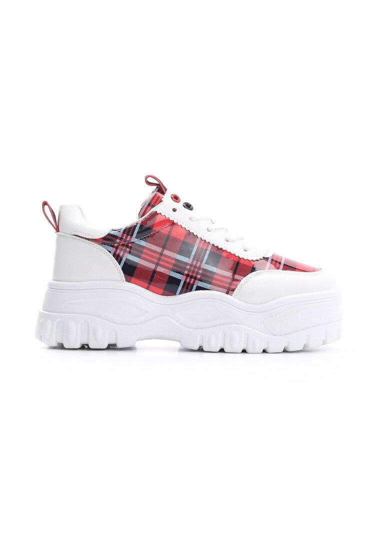 Czerwone Sneakersy Gossiped