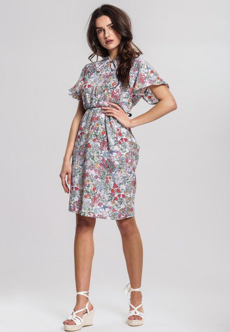 Kremowa Sukienka Callow
