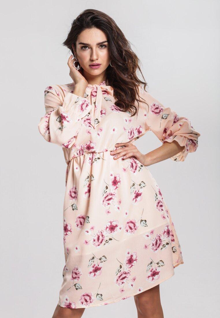 Łososiowa Sukienka Begonia