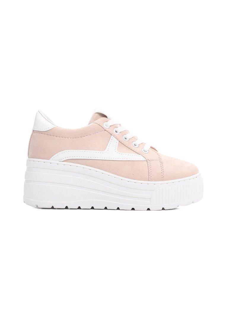 Różowe Sneakersy Thermic