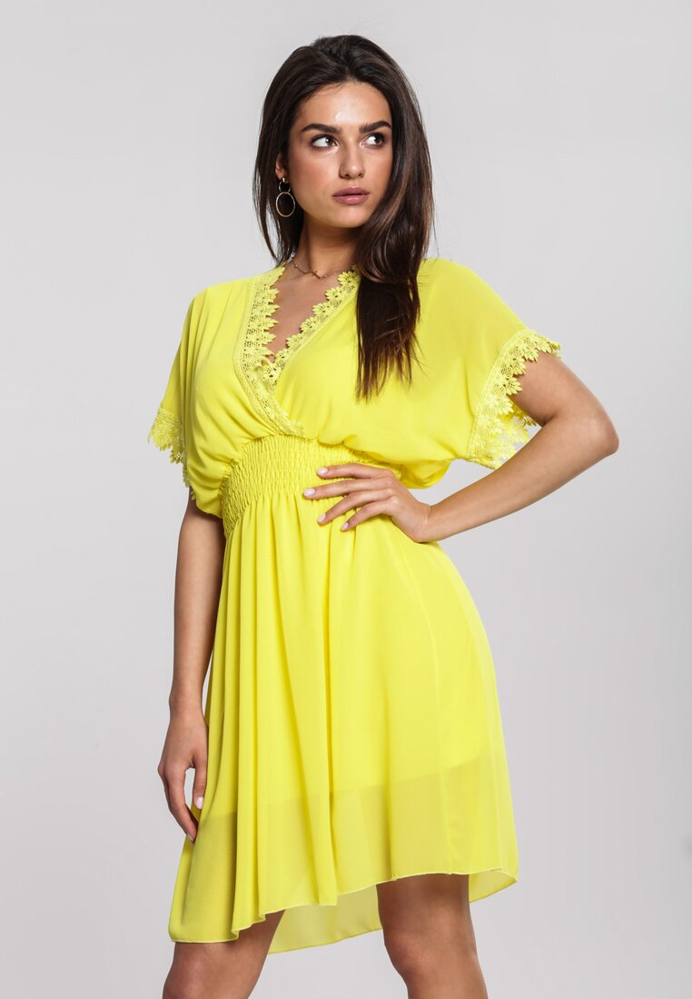 Żółta Sukienka Remark
