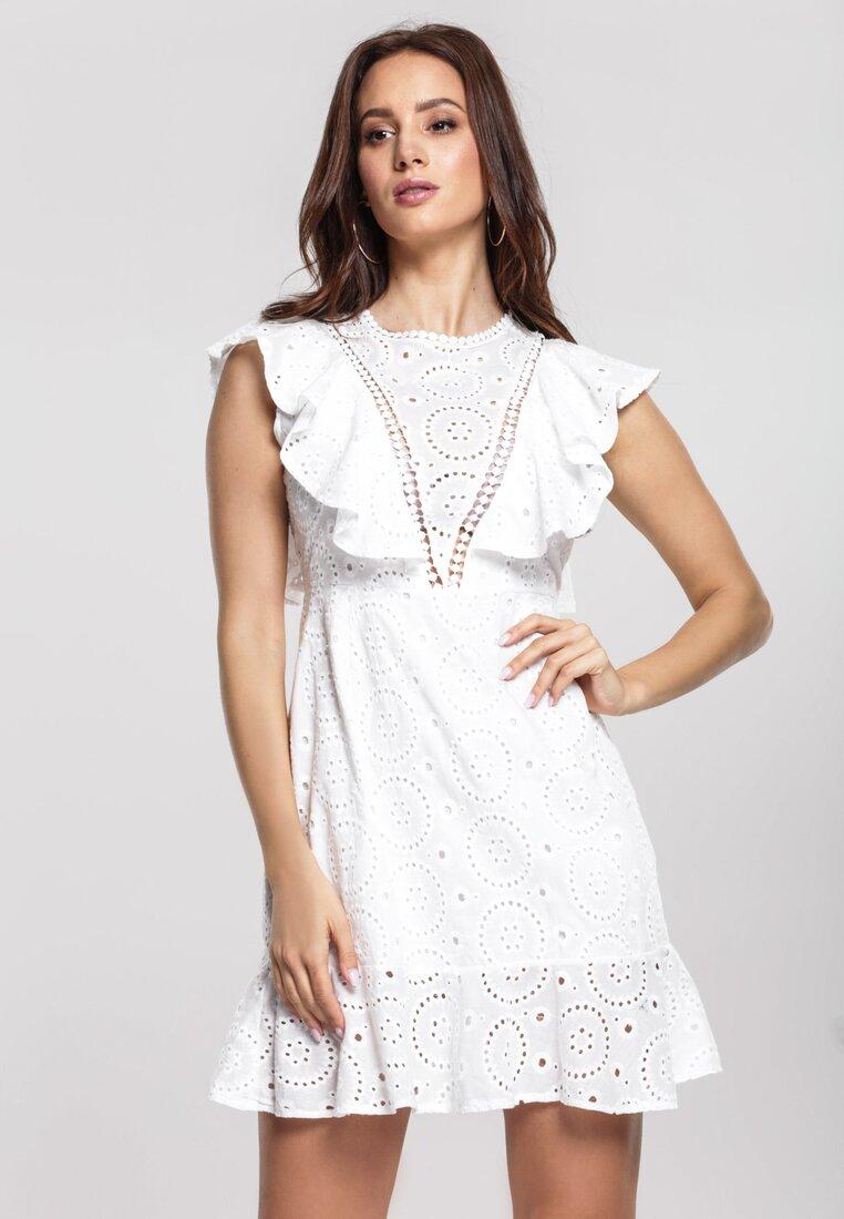 Biała Sukienka Dancingly