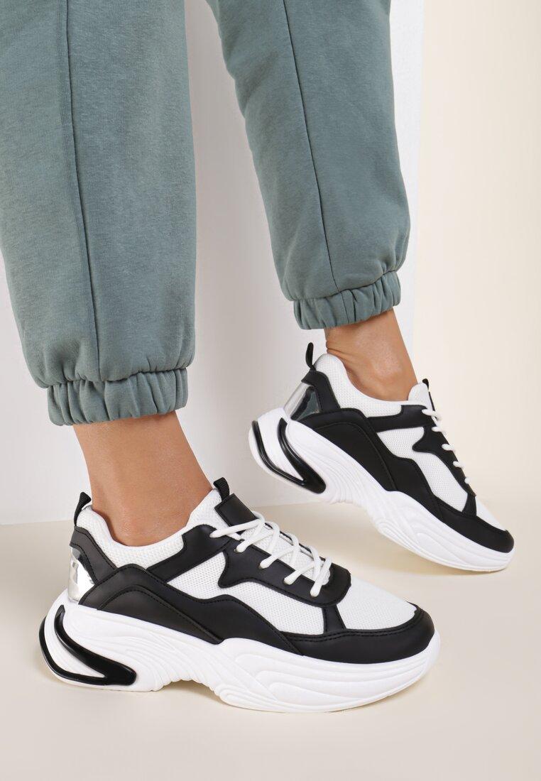 Czarne Sneakersy Fowler