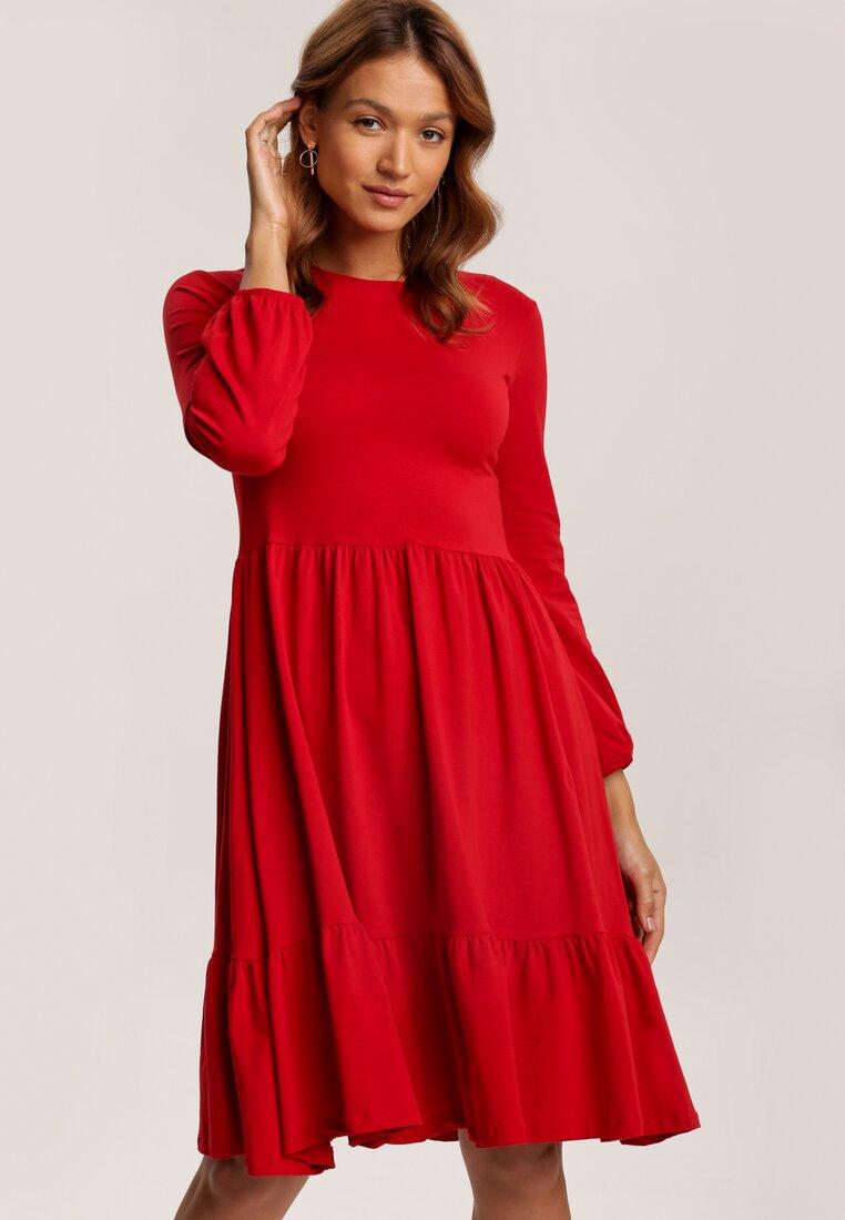 Czerwona Sukienka Aezsyss
