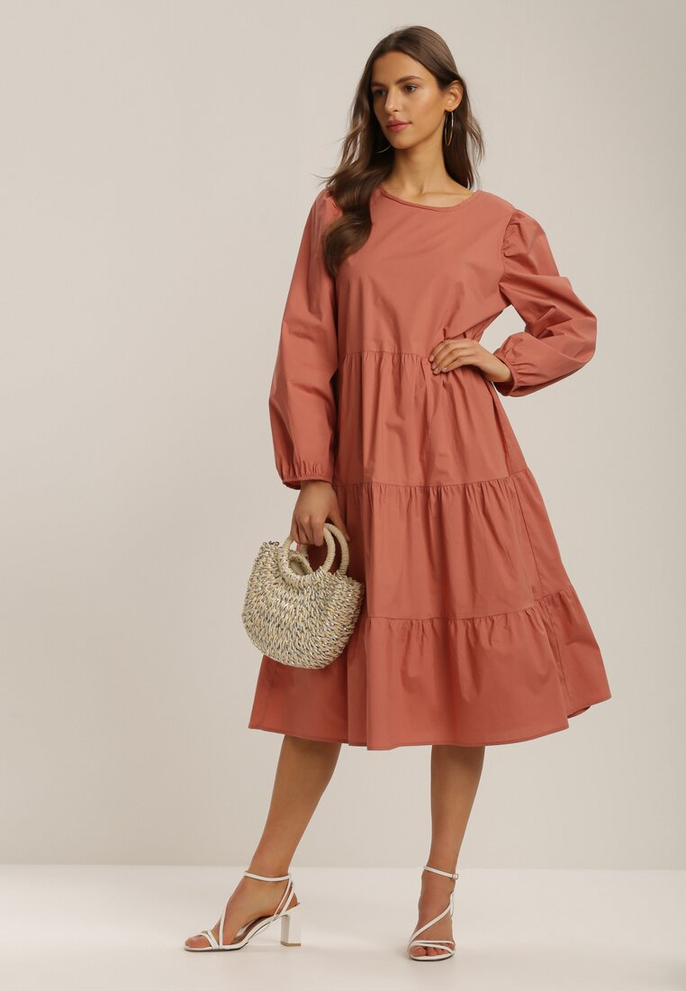 Łososiowa Sukienka Kelera