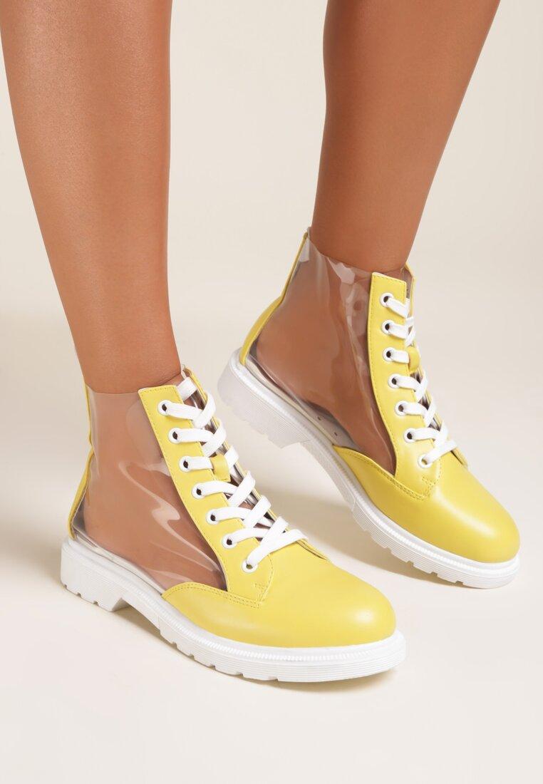 Żółte Botki Diania