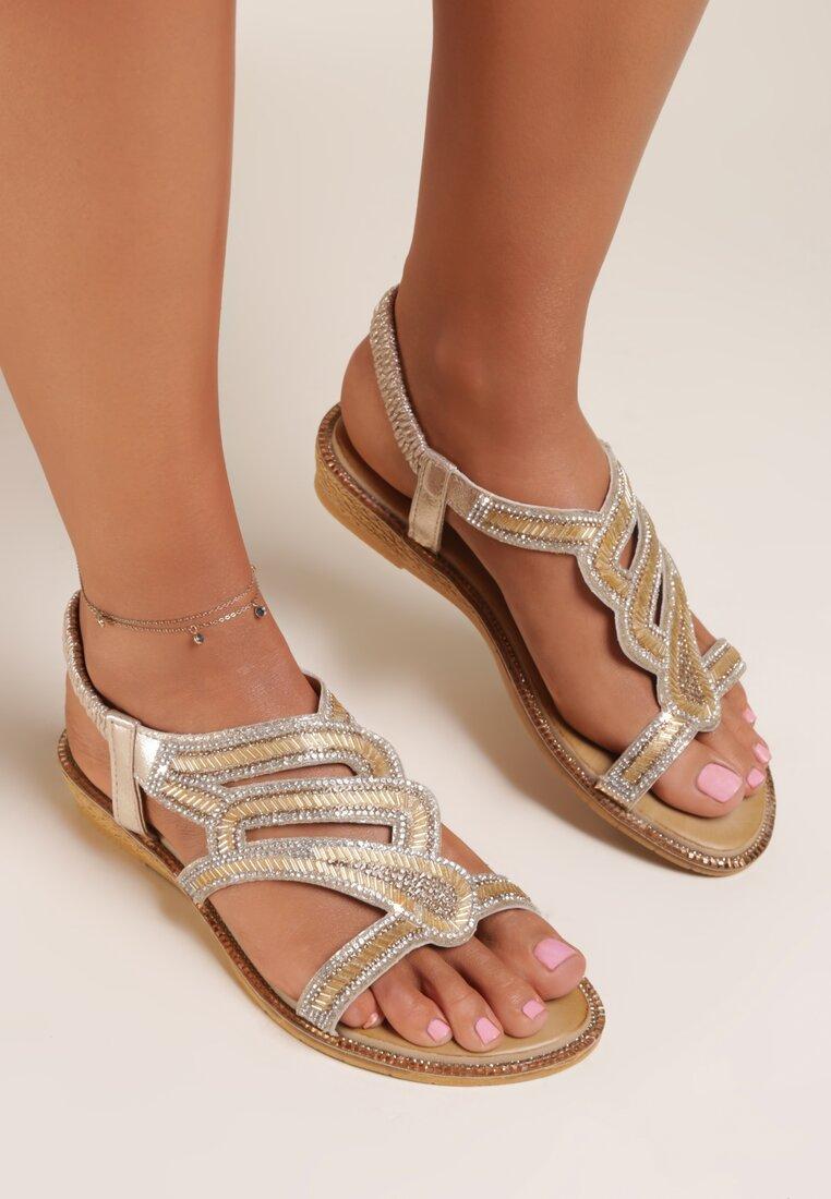 Złote Sandały Azanore