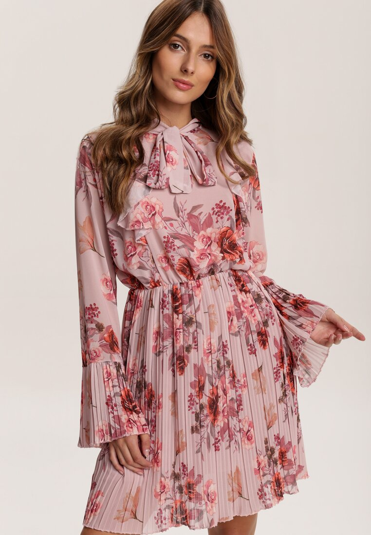 Różowa Sukienka Pentora