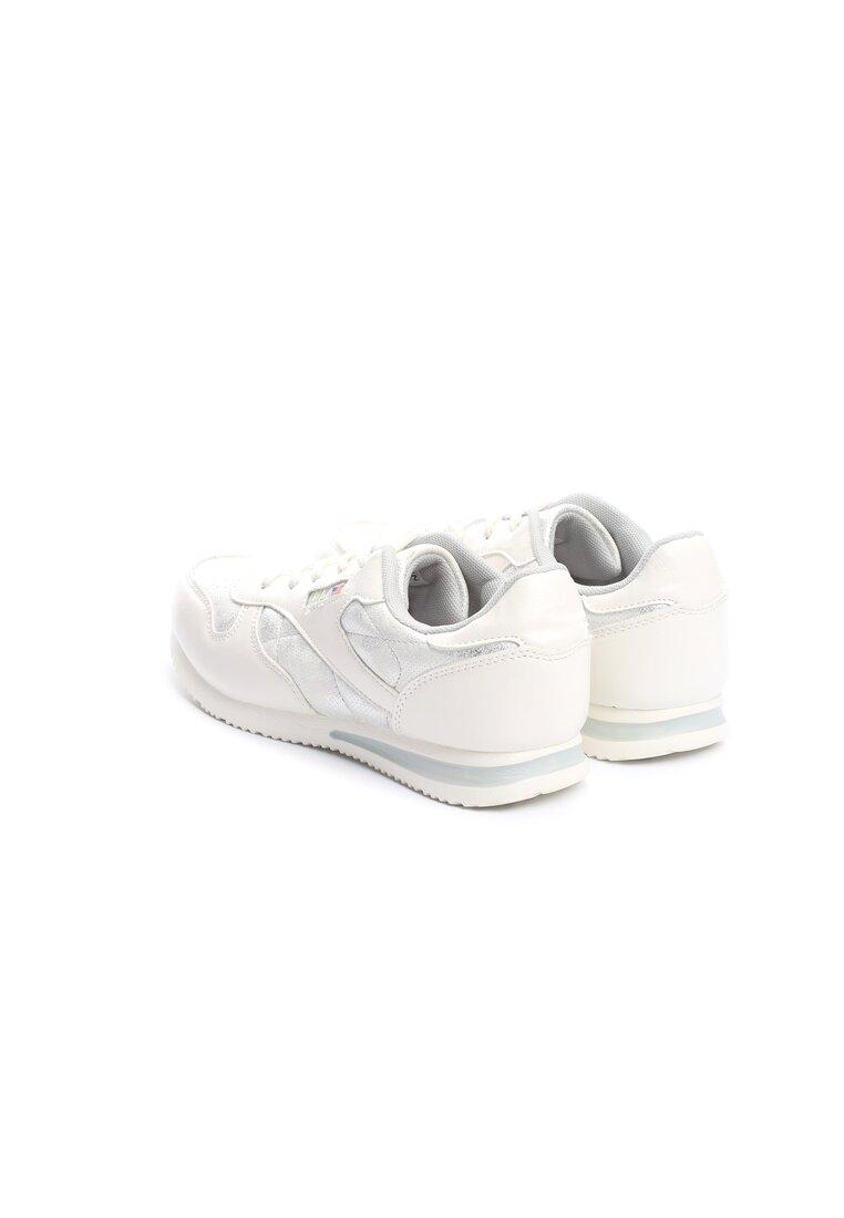 Srebrno-Białe Buty Sportowe Halcyon