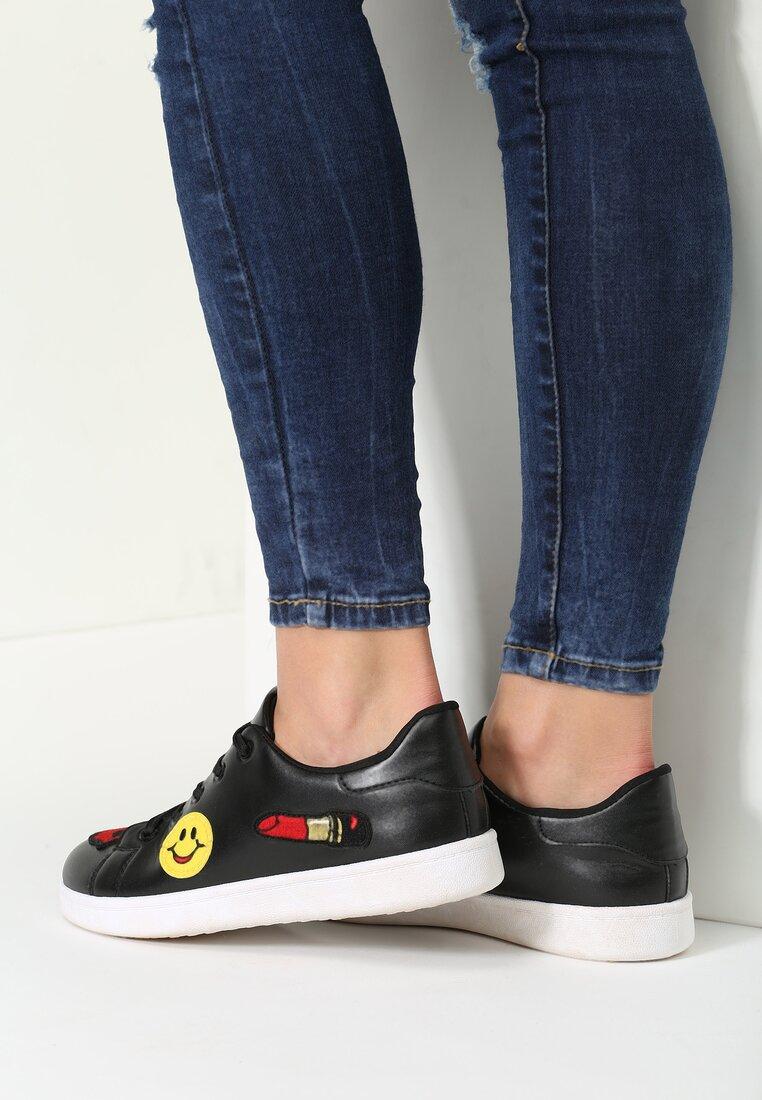 Czarne Buty Sportowe Swiss Dot