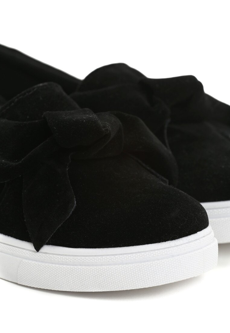 Czarne Slip On Forget