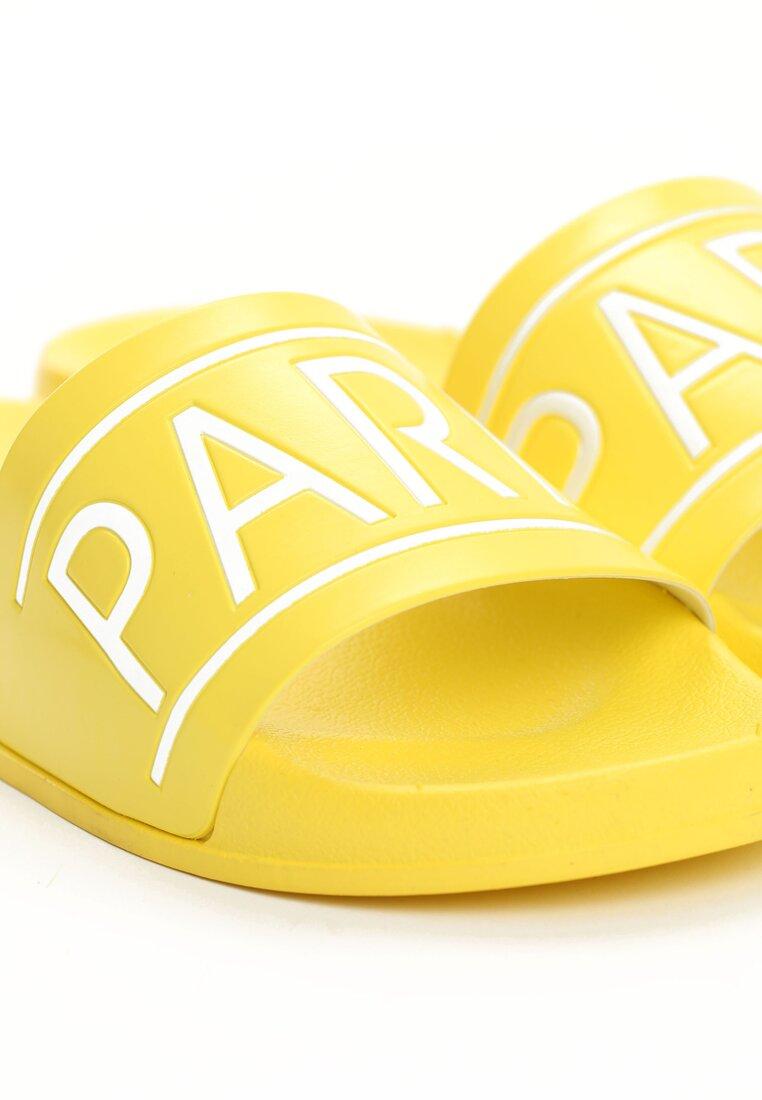 Żółte Klapki Parisian