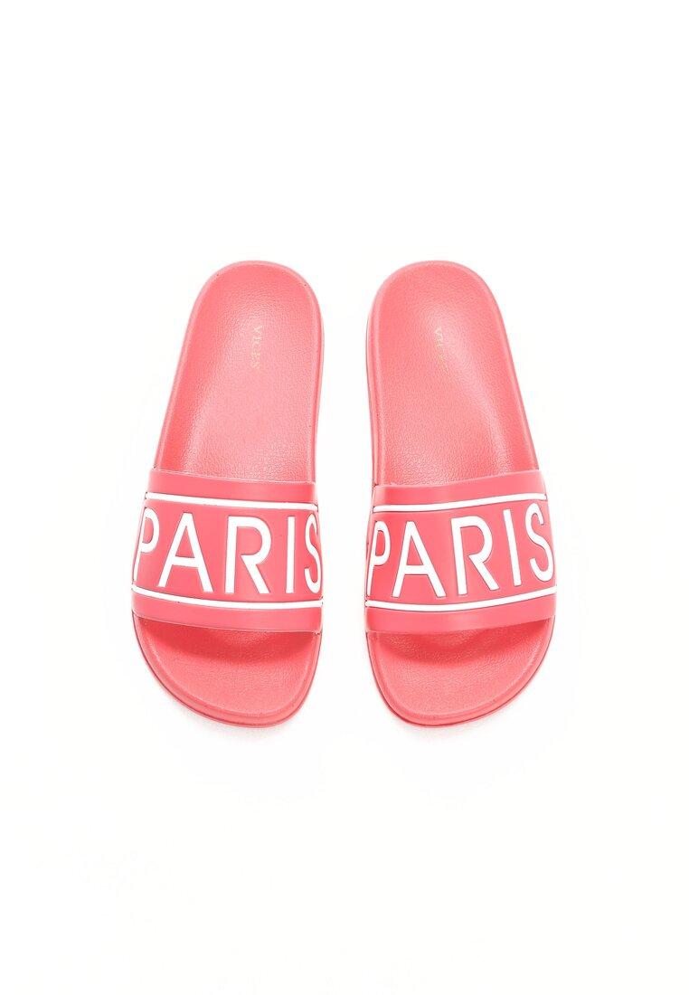 Różowe Klapki Parisian