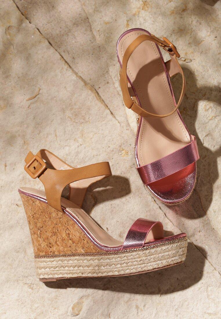 Różowe Sandały Beastly