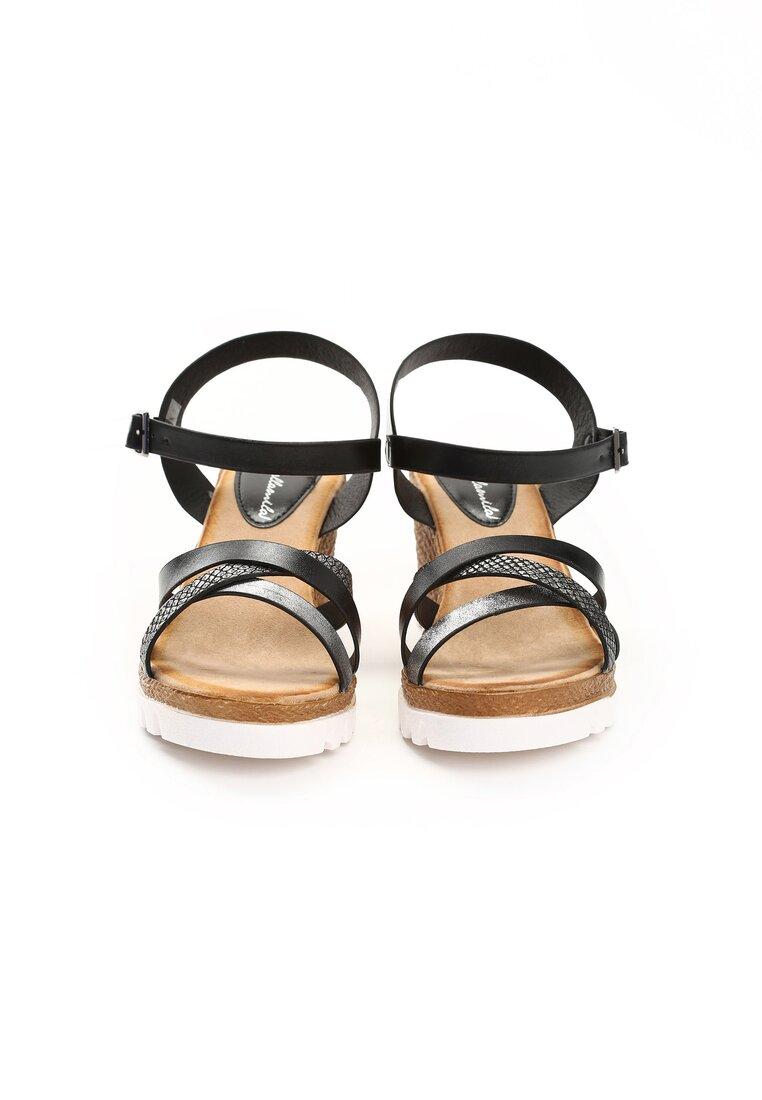 Czarne Sandały Inevitable
