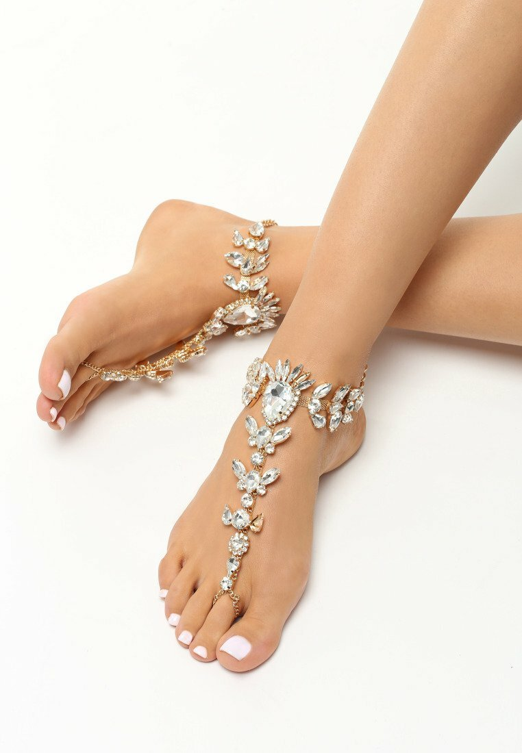 Srebrna Biżuteria na Stopy Daimonds