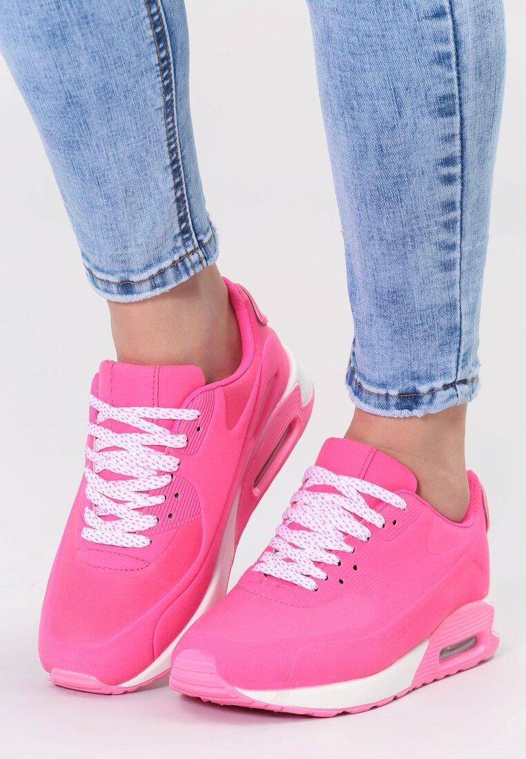Różowe Buty Sportowe Strong Enough