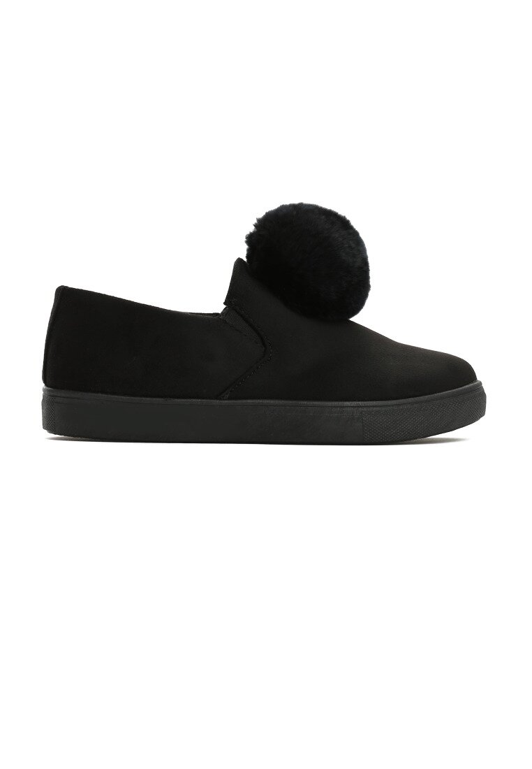 Czarne Slip On Adventurous
