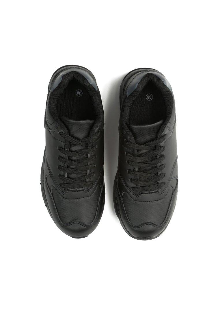 Czarne Buty Sportowe Cross Your Mind