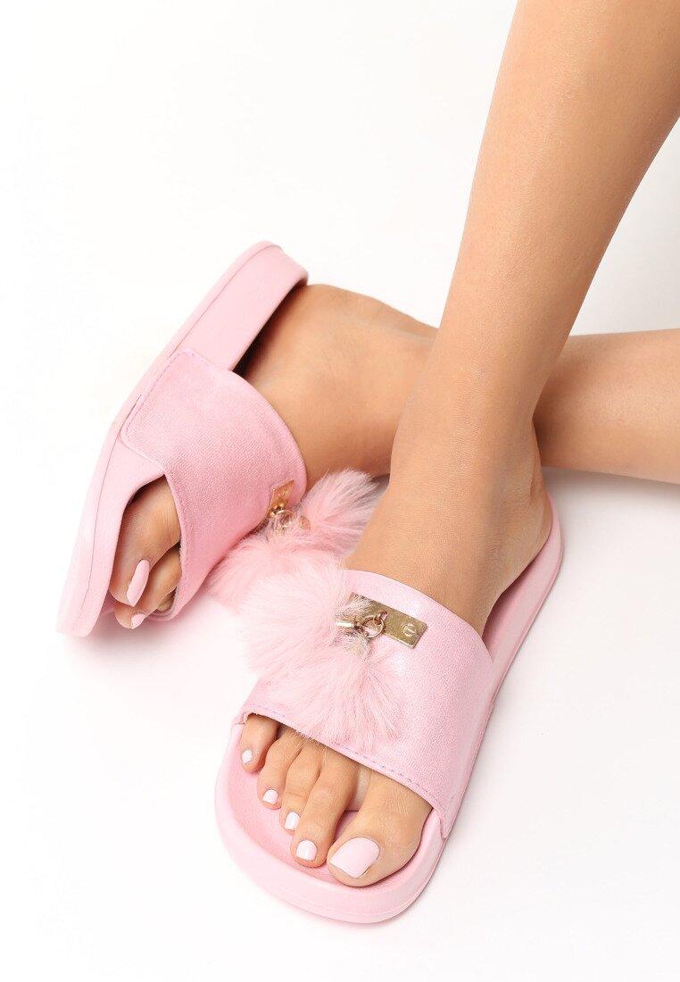Różowe Klapki Little Mix