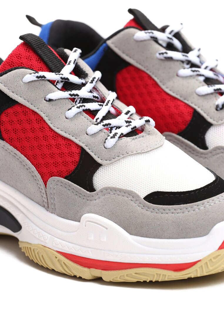 Szare Sneakersy Not Afraid