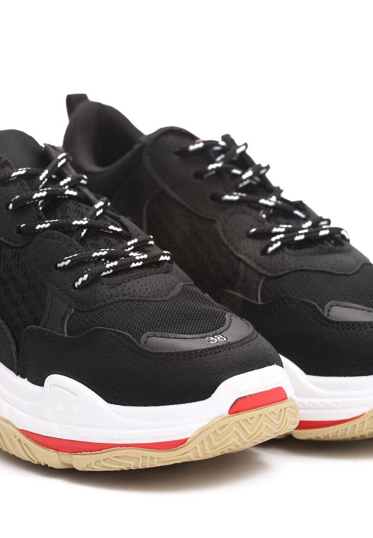 Czarne Sneakersy Wonderwall