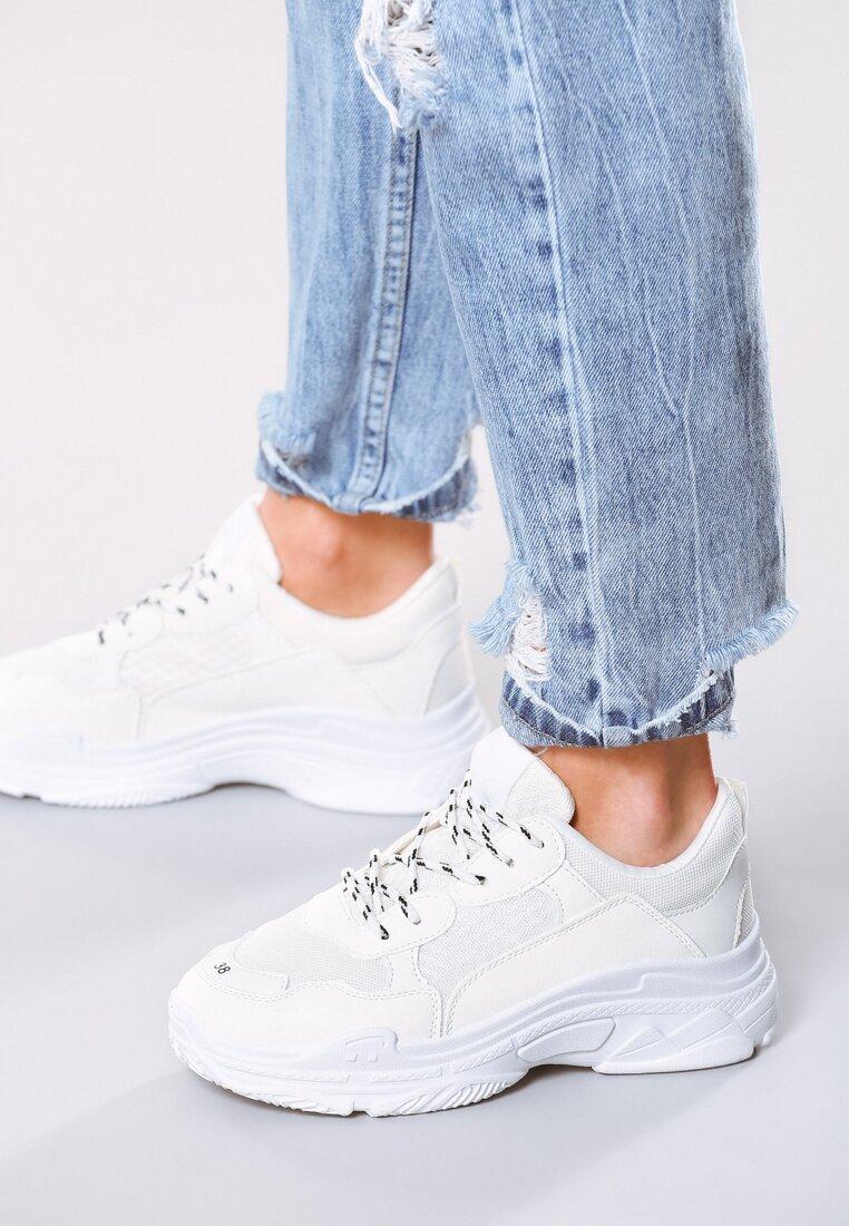 Białe Sneakersy Wonderwall