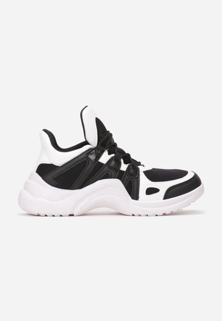 Biało-Czarne Sneakersy Take Notice