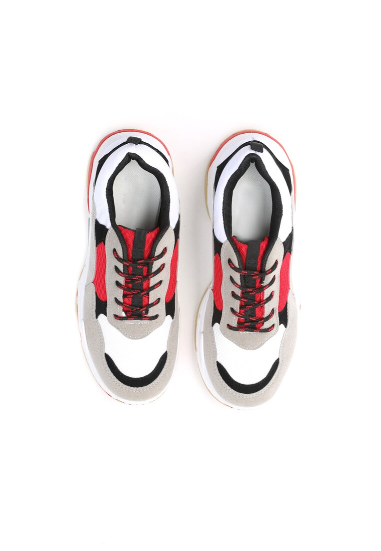 Biało-Czerwone Sneakersy Too Young