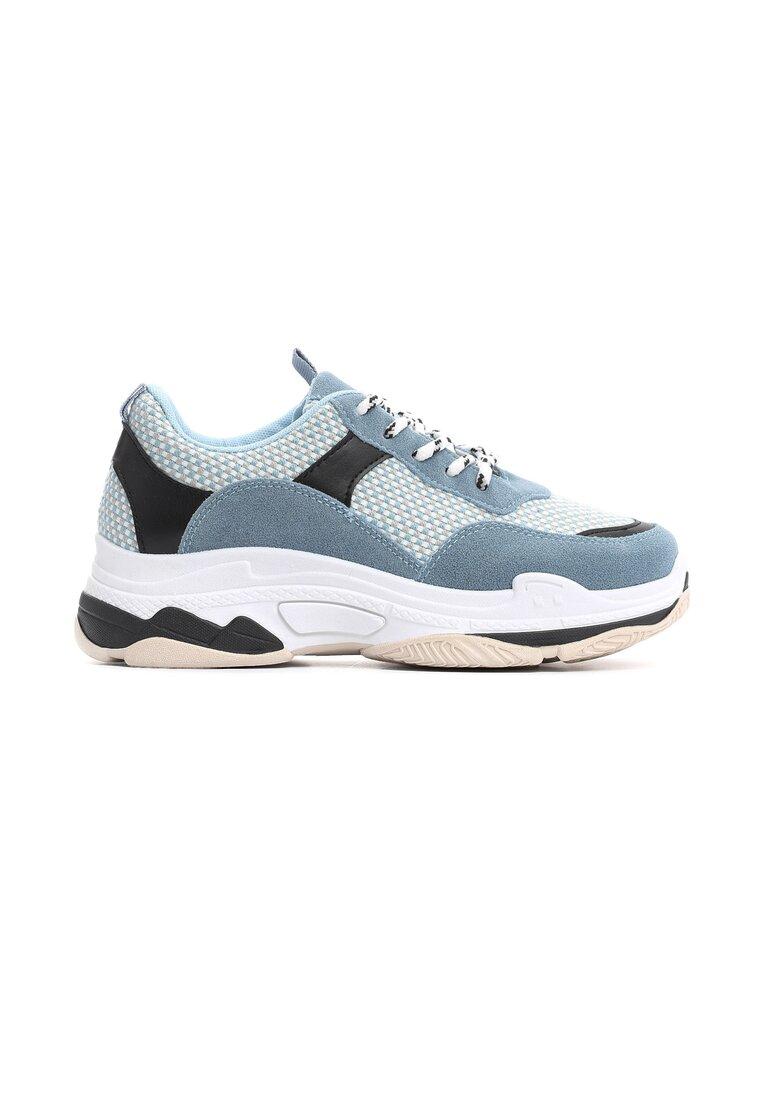 Niebieskie Sneakersy Bounding