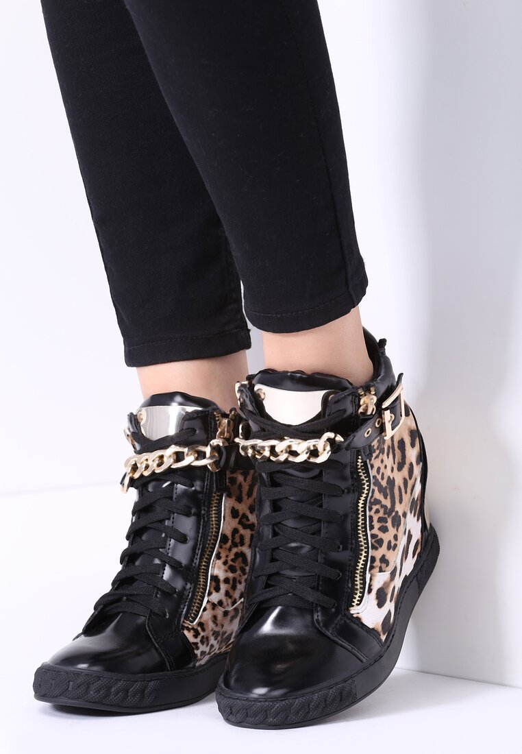 Panterkowe Sneakersy Safari