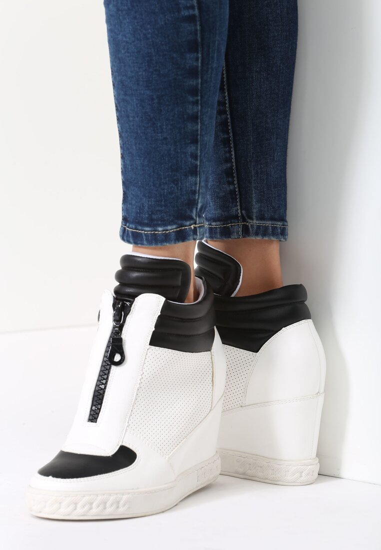 Białe Sneakersy Additives