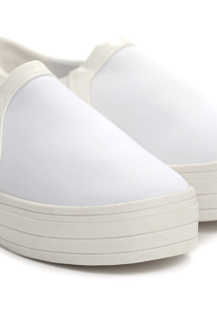 Białe Slip On Belli