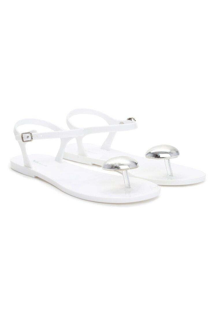 Białe Sandały Twinkle