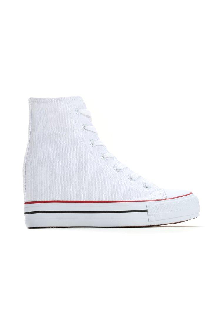 Białe Sneakersy Siovok