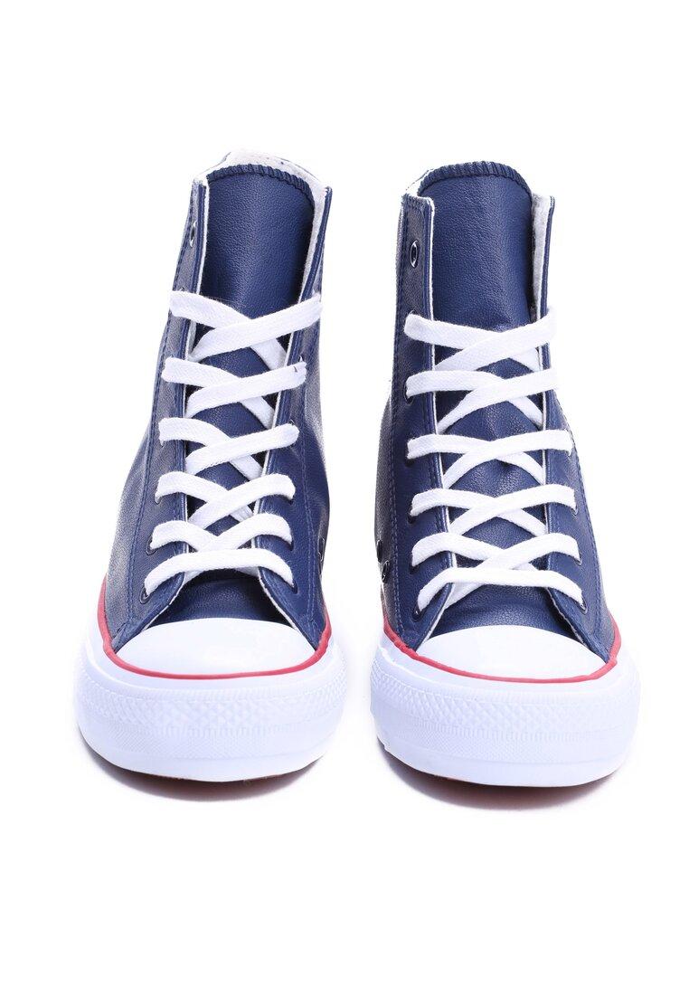 Granatowe Sneakersy Pinky Light