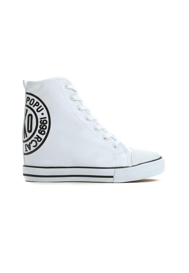 Białe Sneakersy Mango Girl
