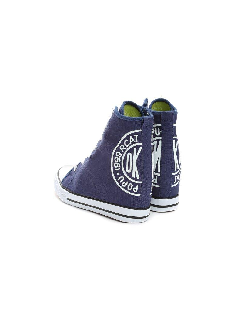 Granatowe Sneakersy Rubby