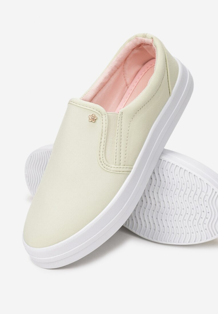 Żółte Slip On Taste Of Pear
