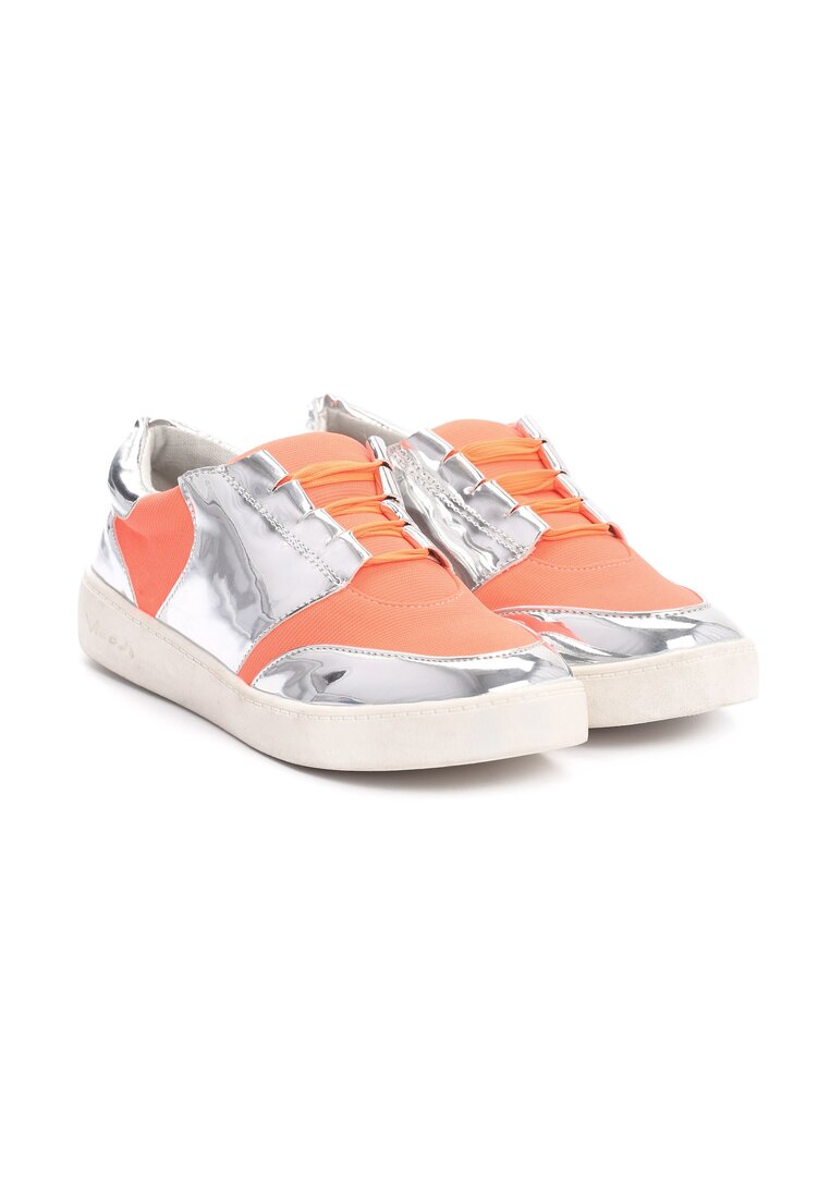Pomarańczowe Buty Sportowe Romance