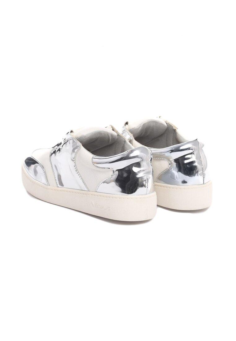 Białe Buty Sportowe Glen