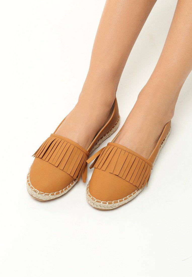 Camelowe Espadryle You Must Love Me