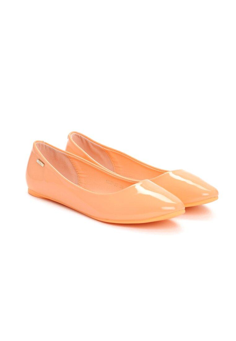 Pomarańczowe Baleriny Angela