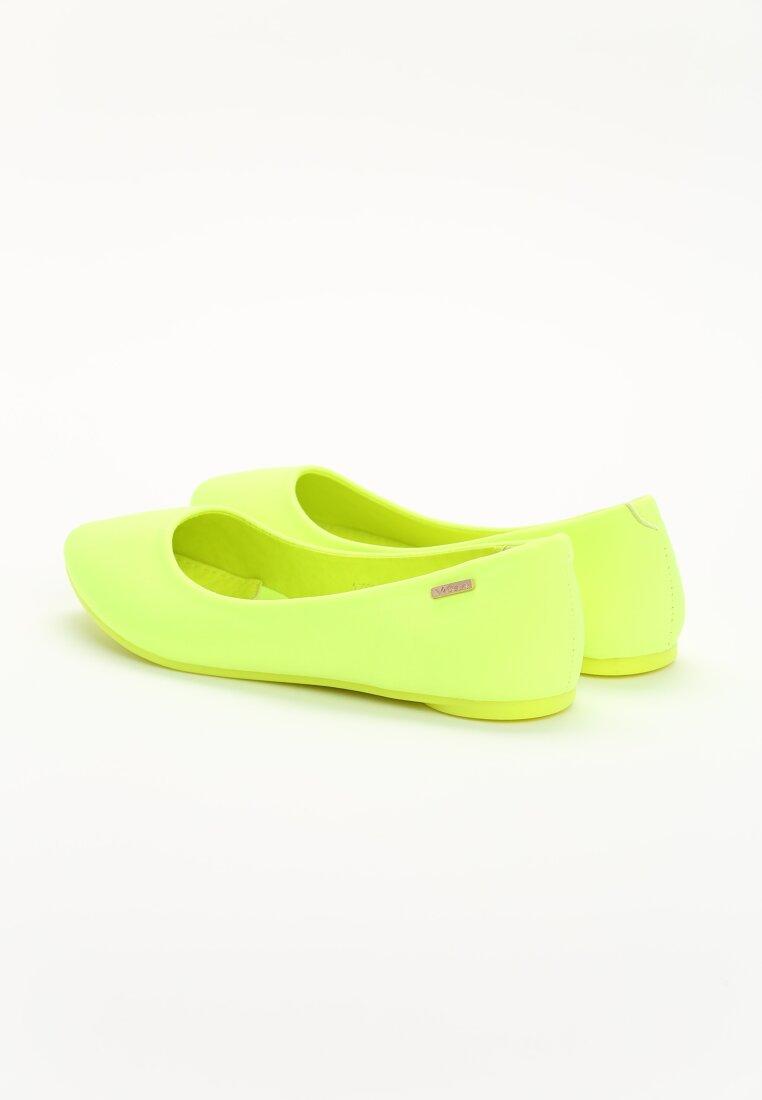 Żółte Balerinki Carmen