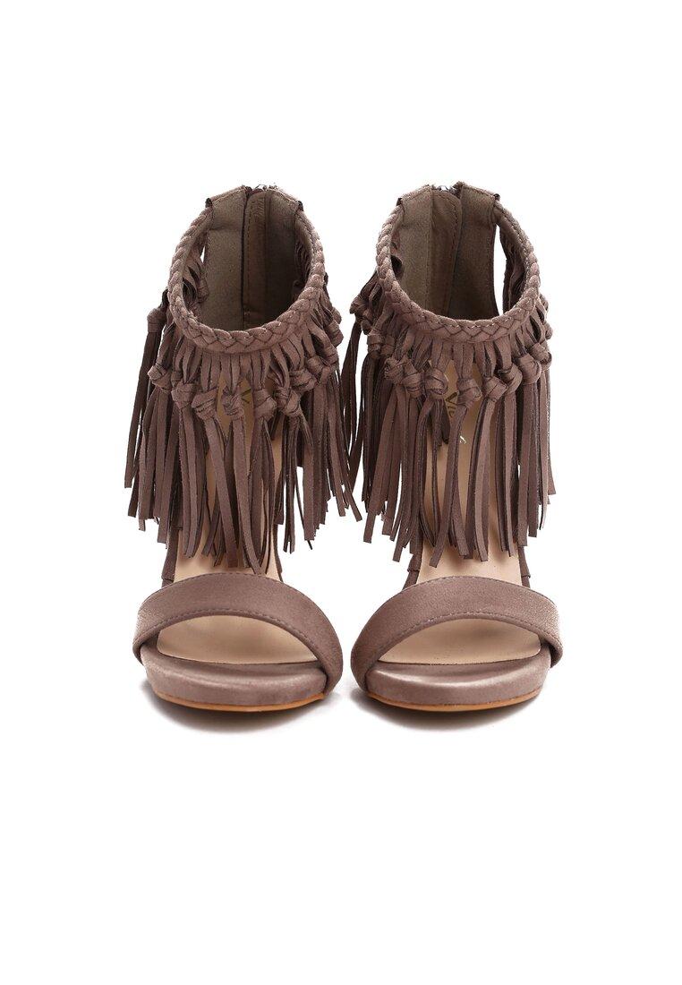 Khaki Sandały Wilma